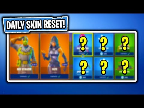Daily & Featured Item Shop In Fortnite: Battle Royale! (Skin Reset #169)