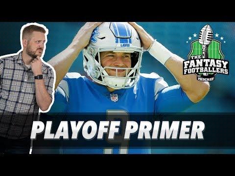 Fantasy Football 2018 - Playoff Primer + Pump the Brakes, Jason\'s Body - Ep. #645