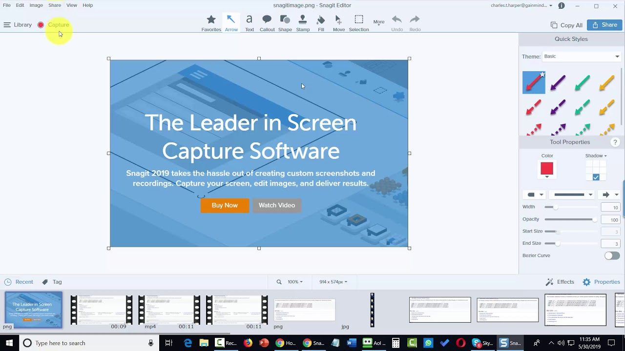 Capture Your Screen With Snagit – Advanced Version Pack