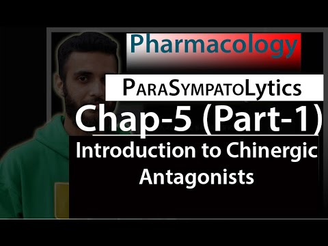 Chap 5   ParaSympatoLytics   Part 1   Introduction To Cholinergic Antagonists
