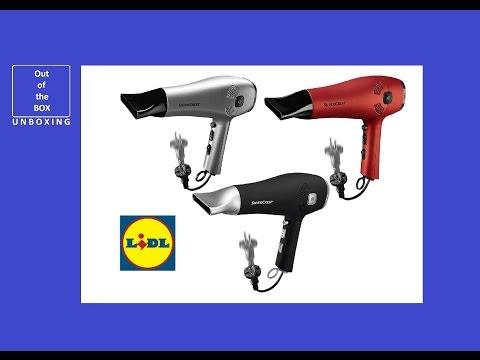 SilverCrest Hairdryer SHTK 2000 C1 UNBOXING (Lidl hair dryer Ionic)