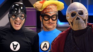 The Anti-Bats! - Mikey and Gerard Way with Martin Starr - Full Episode - The Aquabats! Super Show!