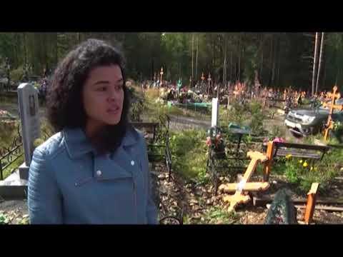 На кладбище неизвестные устроили погром