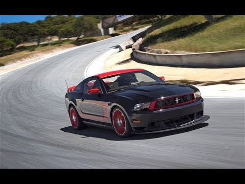 2012 Ford Mustang Boss 302 Laguna Seca Hot Lap! - 2011 Best Driver's Car Contender