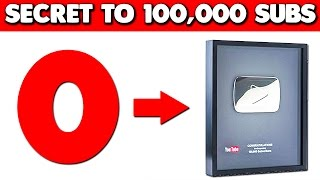 How To Get 100,000 Subscribers on Youtube (Watch Until The End)
