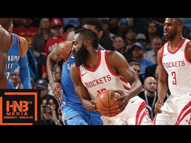 Houston Rockets vs Oklahoma City Thunder Full Game Highlights / March 6 / 2017-18 NBA Season #1