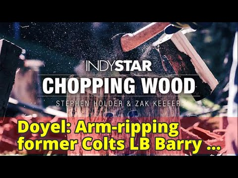 Doyel: Arm-ripping former Colts LB Barry Krauss has become an ... artist?