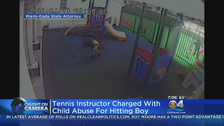 Tennis Instructor Charged With Child Abuse For Hitting Boy