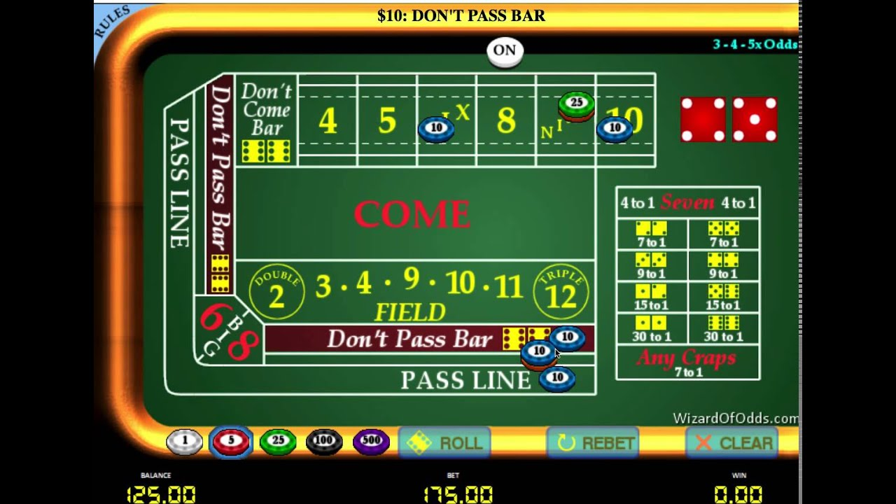 Craps System That Works