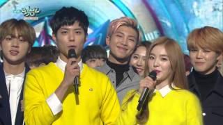 [160108 ] BTS NO.1 Music Bank