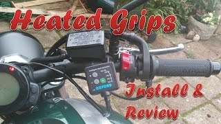 Oxford Hot Grips Install & Review