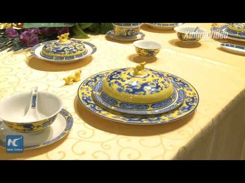 Delicate and beautiful! Watch how porcelain is made in Zibo, China
