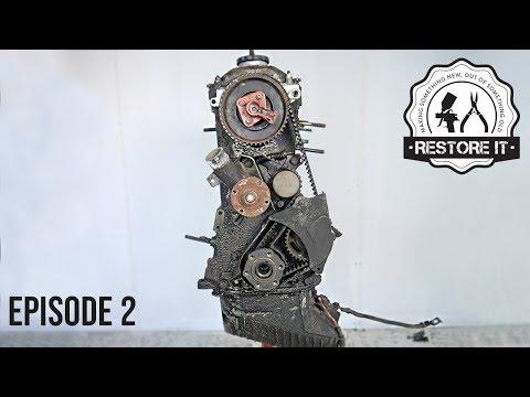 BMW E30 M20B25 Engine Rebuild Restoration - Time-Lapse | Part 2