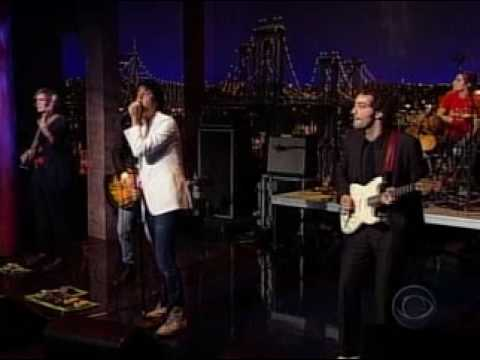 The End Has No End - THE STROKES (LIVE Letterman )