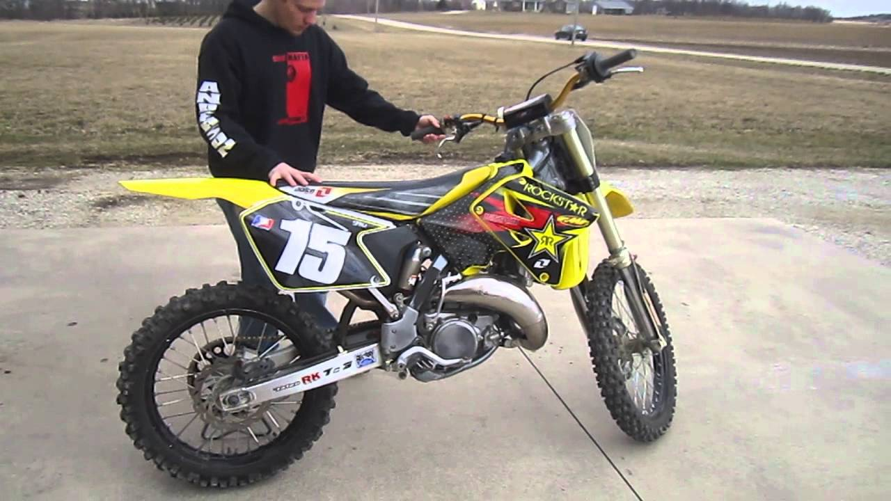 rockstar energy racing 2003 suzuki rm 144 youtube. Black Bedroom Furniture Sets. Home Design Ideas