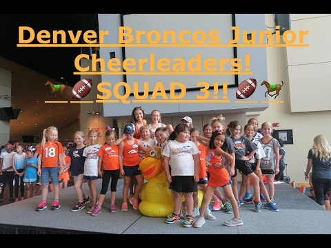 The Denver Broncos Junior Cheerleaders! Squad 3!!! //Baby Doll