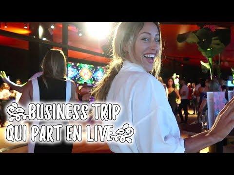 Business trip qui part en live !