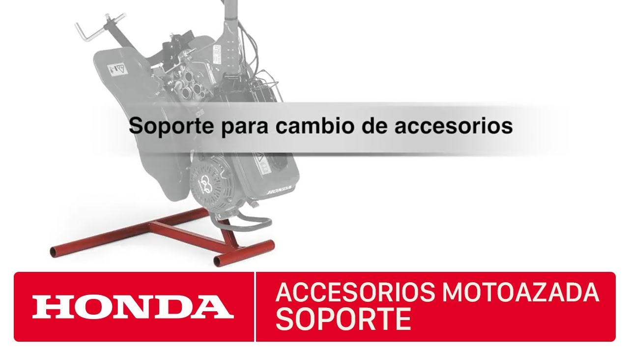 Accesorios para motoazadas honda soporte cambio for Accesorios para toldos de balcon