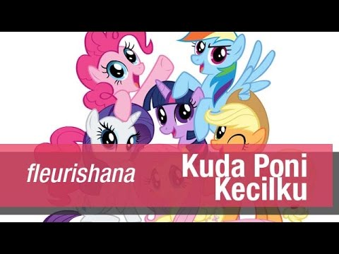 Fleurishana Kuda Poni Kecilku Youtube