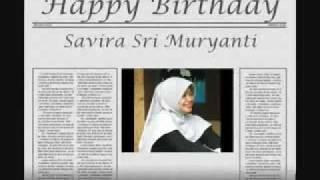 happy birthday savira