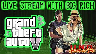 Grand Theft Auto V Online Game Play with Big Rich