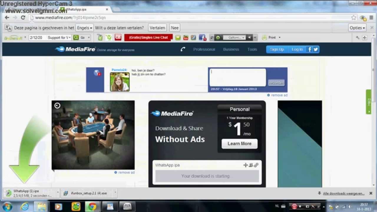 Www.mediafire.com как загрузить видео