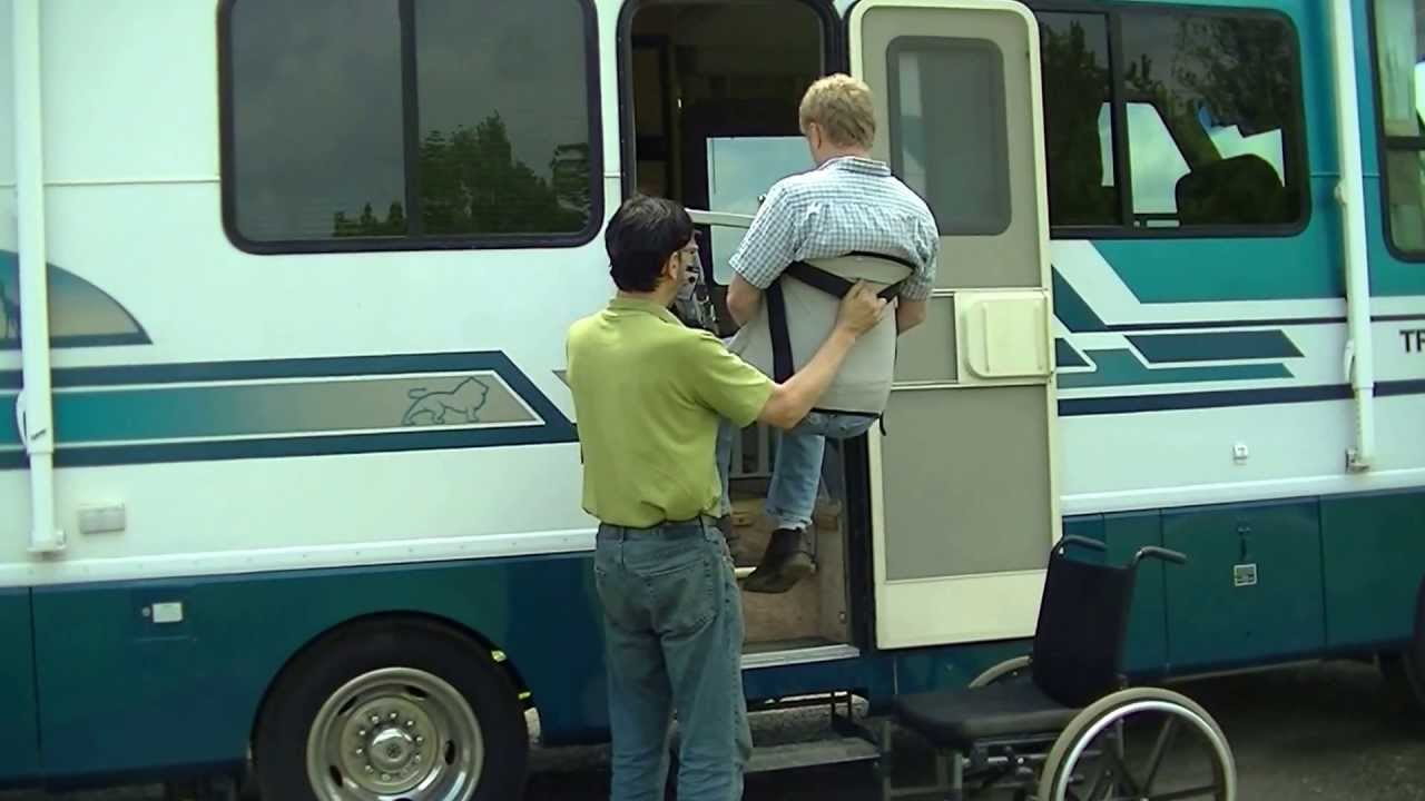 Multi-Lift Handicap Disability Patient Transfer Lift in Motor Home ...