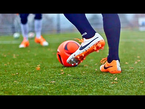 How To Improve Your Weak Foot & Touch - Soccer Football Skills