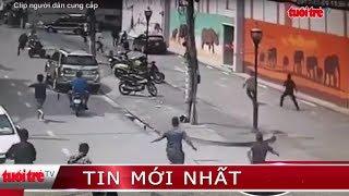 ⚡ Tin mới nhất   Cảnh sát vây bắt băng nhóm chuyên trộm cắp xe máy