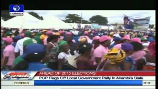 PDP Flags Off LG Rally In Anambra State