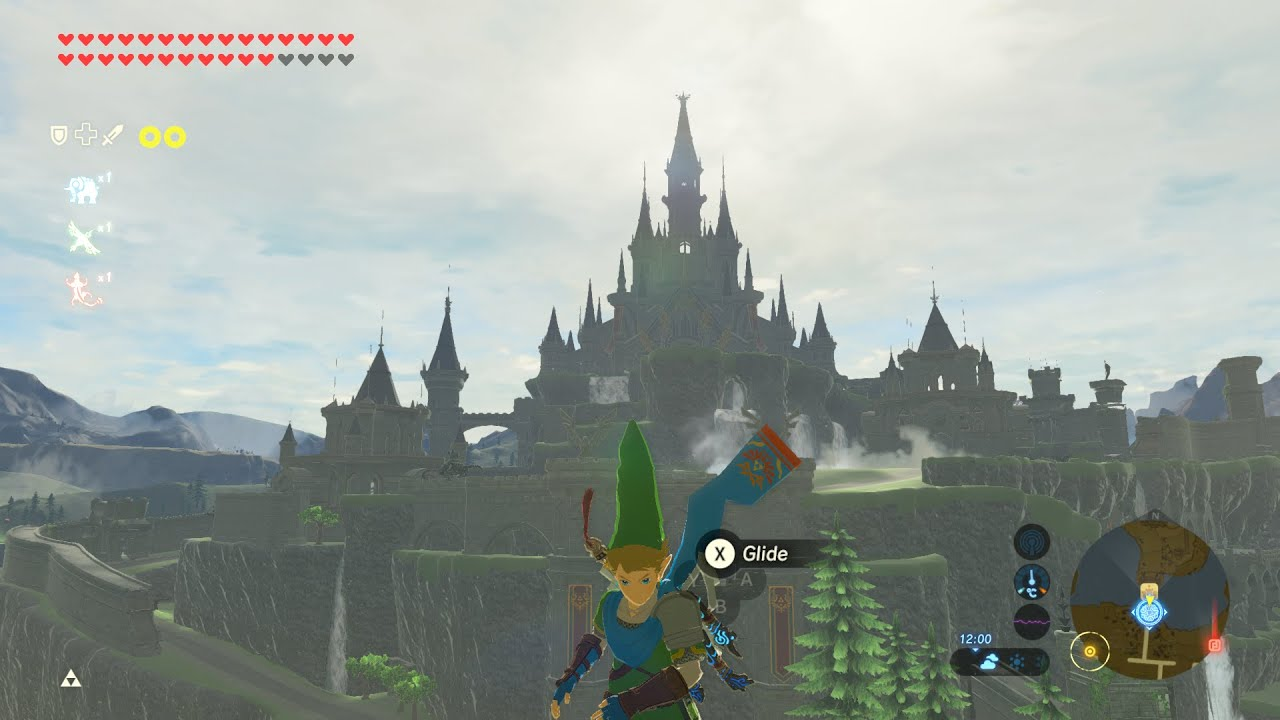 Breath Of The Wild Mod Recreates Hyrule Castle As It Is In Age Of Calamity
