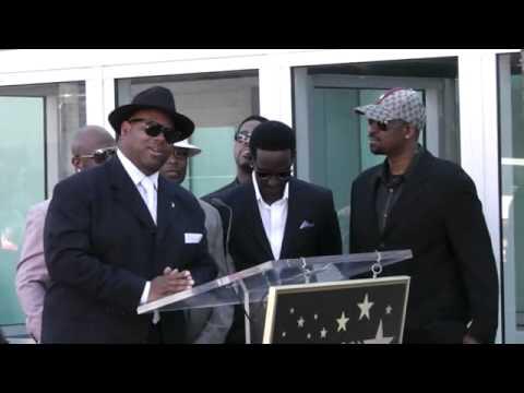 Jimmy Jam & Terry Lewis Honors Boyz ll Men