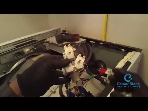 Front Load Washer Repair - LG Washing Machine Leaking Water - How to Fix this Washer Easily
