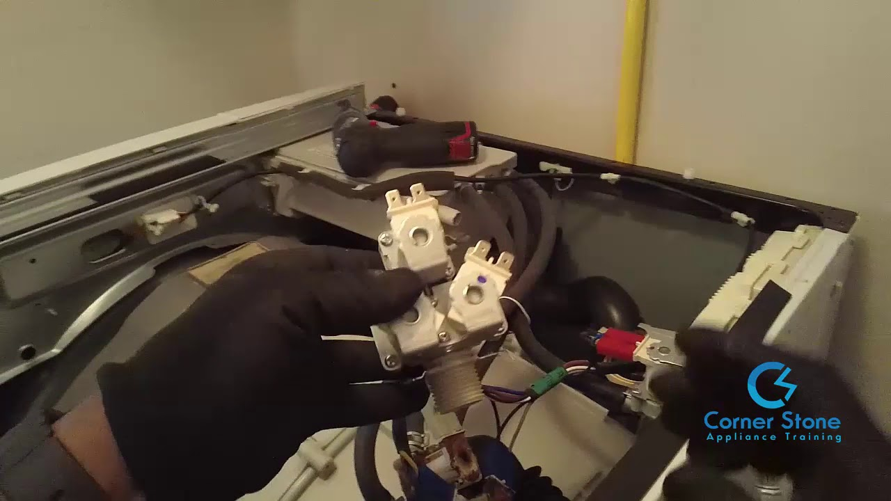 front load washer repair lg washing machine leaking water how to fix this washer easily [ 1280 x 720 Pixel ]
