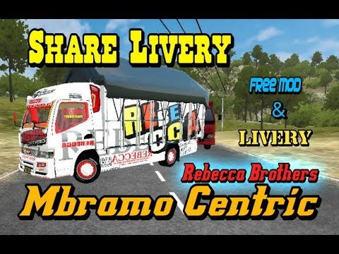 BUSSID Mod Truck Canter Mbramo Centric REBECCA BROTHERS