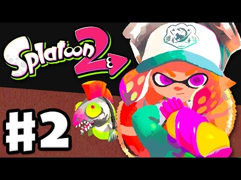 Splatoon 2 - Gameplay Walkthrough Part 2 - Salmon Run! (Nintendo Switch)