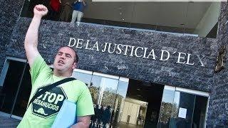 La PAH arropa a Pepe antes del juicio por escrache