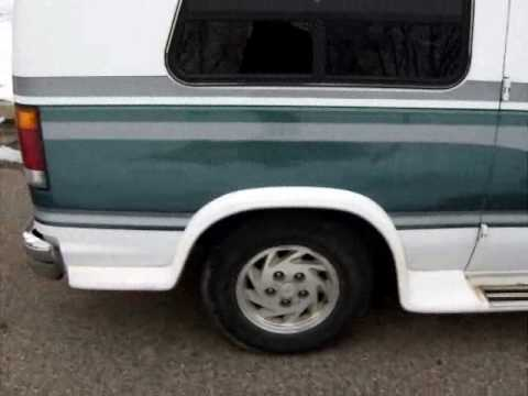 1992 Ford Econoline Conversion Van For Sale On Ebay Youtube