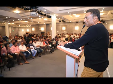 Exploring Unknown : Discussion with veteran actor Mr. Prakash Raj | SIBF 2018