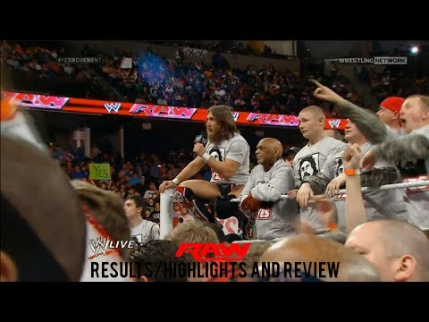 WWE RAW 3/10/14 Results/Highlights & Review, Daniel Bryan ...