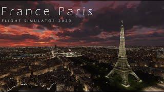 플라이트 시뮬레이터 2020 프랑스 파리 (Microsoft Flight Simulator 2020 Paris France with ORBX)