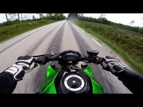 Swedish Motovlog On A Kawasaki Z1000