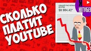 Сколько платят ютуб за просмотры миллион и тысяча Youtube