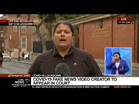COVID-19 Lockdown | Fake news video creator appears in court