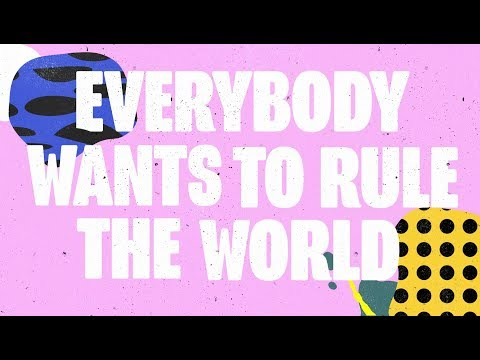 Trevor Horn (feat. Robbie Williams) - Everybody Wants to Rule the World (Lyric Video)