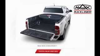 กล่องอเนกประสงค์ท้ายรถกระบะ  MAXBOX 4 รุ่น แกร่งทนทุกสภาวะ จาก Maxliner