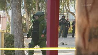 Bomb Scare At 12th & Imperial Trolley Station 10/13/2017