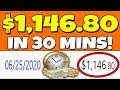 Make $1,146.80 in 30 Minutes on AUTOPILOT! (Make Money Online)