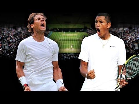 Kyrgios vs Nadal Wimbledon 2014 4th Round Highlights