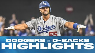 Dodgers at D-Backs - Highlights from 7/30-8/01